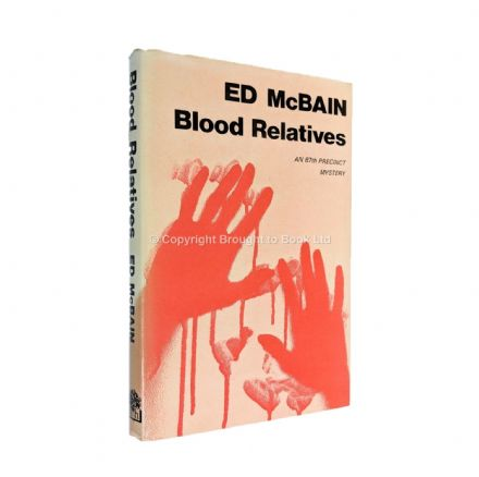 Blood Relatives Signed by Ed McBain​​​​​​​ First Edition Hamish Hamilton 1976